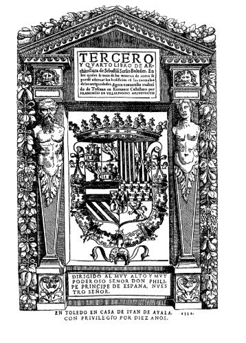 Tercero y Cuarto Libro de Architectura de Sebastia Serlio ... - Cehopu