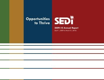 Opportunities to Thrive - Canadian Centre for Financial Literacy