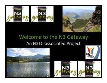 Welcome to the N3 Gateway - Sedibeng District Municipality