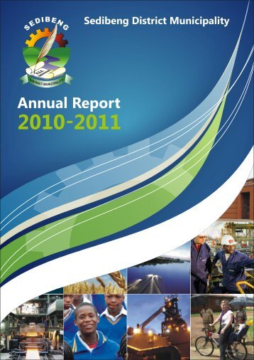 Download the complete Annual Report - Sedibeng District Municipality