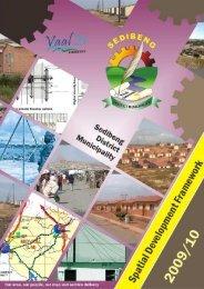 SDF - Sedibeng District Municipality