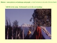 Bhutan – some pictures on landscape and people : a brief invitation ...