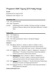 Endgültiges Programm (Stand 16.04.2010)