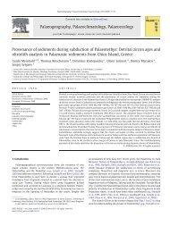 PDF (4.80 Mb) - Sedimentology & Environmental Geology