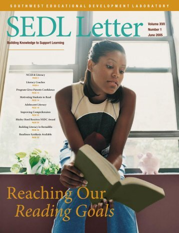 SEDL Letter: Reaching Our Reading Goals