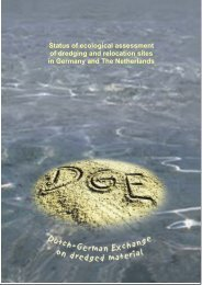 Status of ecological assessment of dredging and relocation ... - SedNet