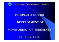 PERSPECTIVES FOR DEVELOPMENT OF MONITORING ... - SedNet