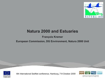 Natura 2000 and Estuaries - SedNet