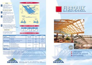 Fibrolux - Sedpa