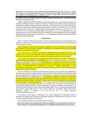 Norma Oficial Mexicana PROY-NOM-161-SEMARNAT-2011, Que ...