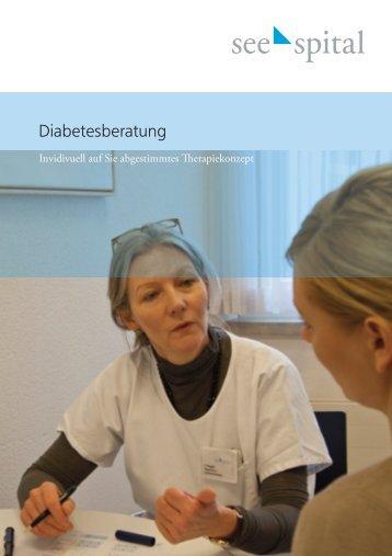 Folder Diabetesberatung - See-Spital