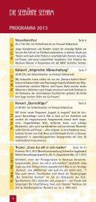 Das Programmheft 2013 zum Download (3 MB) - Seebühne Seeham - Seite 4