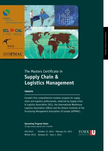 Supply Chain & Logistics Management - Schulich Executive ...