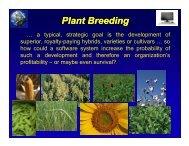 Plant Breeding - SeedQuest