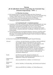 Entwässerungssatzung (97 KB) - Seeg