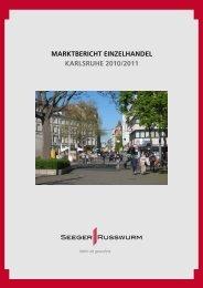marktbericht einzelhandel karlsruhe 2010/2011 - SEEGER ...