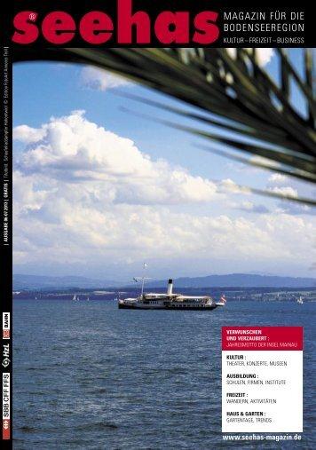 Juni und Juli 2013 - Seehas Magazin