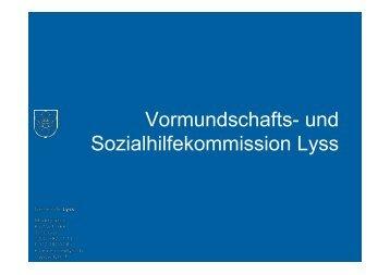und Sozialhilfekommission Lyss - seeland-biel-bienne