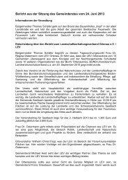 Bericht der Sitzung am 24.06.2013 - seelbach-online