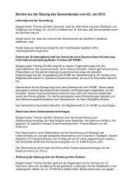 Bericht der Sitzung am 02.07.2012 - seelbach-online