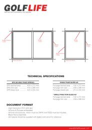 TECHNICAL SPECIFICATIONS DOCUMENT FORMAT
