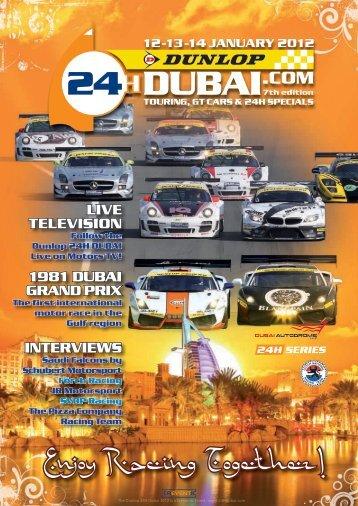 Dunlop 24H Dubai magazine 2012 in PDF