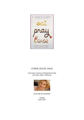 COMER, REZAR, AMAR - Prisa Ediciones