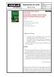 Ficha del libro - Aguilar