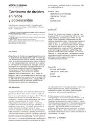 Carcinoma de tiroides en niños y adolescentes - SciELO