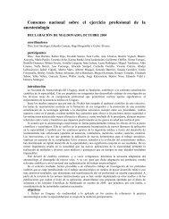 Consenso nacional sobre el ejercicio profesional de la ... - SciELO