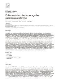 Enfermedades diarreicas agudas asociadas a rotavirus - SciELO