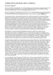 INTRODUCCIÓN AL ESTUDIO DEL ARTE Y LA MEDICINA - SciELO