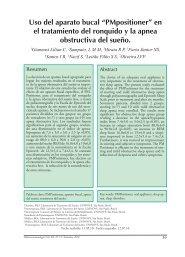 en el tratamiento del ronquido y la apnea obstructiva del ... - SciELO