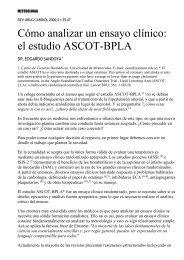 Cómo analizar un ensayo clínico: el estudio ASCOT-BPLA - SciELO