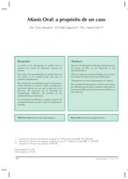 Miasis Oral: a propósito de un caso - SciELO