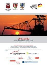 Unternehmerreise in die Lausitz (D) - Cleantech Switzerland