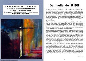 Pfarrbrief 2012-04.pdf - Seelsorgeeinheit Alken