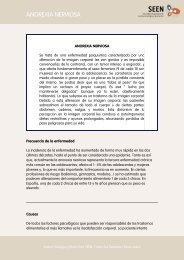 ANOREXIA NERVIOSA - Sociedad Española de Endocrinología y ...
