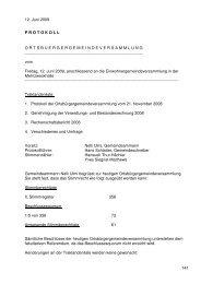 Protokoll OG 12.06.2009 - Seengen