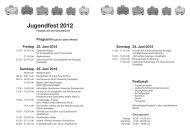 Jugendfest 2012 - Seengen