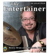 Henry Brun and the Latin Playerz - La Prensa De San Antonio