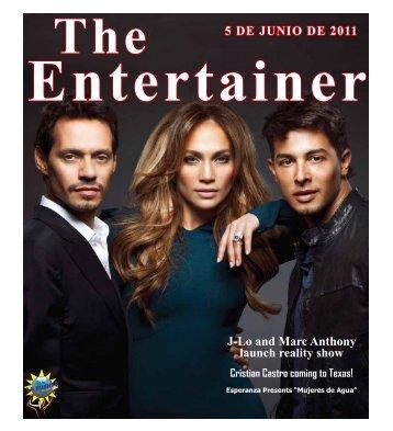 5 DE JUNIO DE 2011 J-Lo and Marc Anthony launch reality show