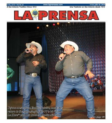 Tejano music great Emilio Navaira, marks his return to the stage ...