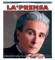 Internationally renowned pianist visits SA - La Prensa De San Antonio