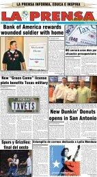 19 de mayo de 2013 - La Prensa De San Antonio