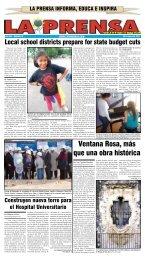 Ventana Rosa, más que una obra histórica - La Prensa De San ...