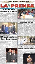 AEM celebrates former Mayor Henry Cisneros - La Prensa De San ...