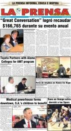 3 de marzo de 2013 - La Prensa De San Antonio