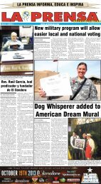 Dog Whisperer added to American Dream Mural - La Prensa De ...