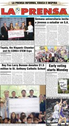 Early voting starts Monday - La Prensa De San Antonio